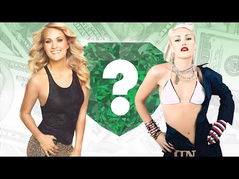 WHO'S RICHER? - Carrie Underwood or Gwen...
