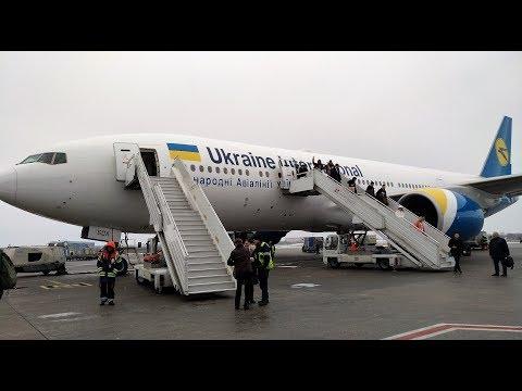 Перелет Львов-Киев на первом Boeing 777-200ER МАУ