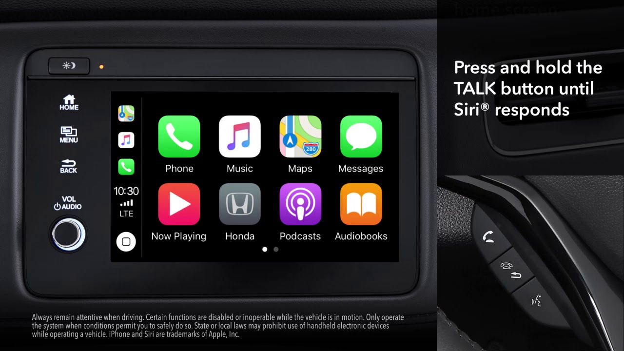 Honda Hr V How To Connect And Use Apple Carplay