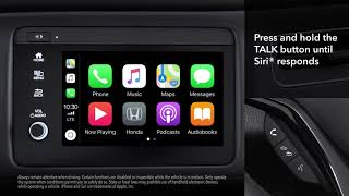 Honda HR-V: How to Connect and Use Apple CarPlay™