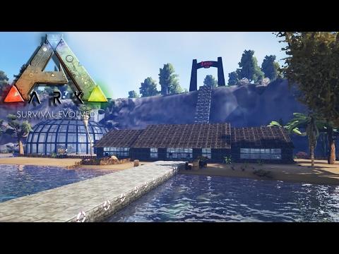 Construction D'Un Parc Préhistorique - ARKCHITECTE - Ark : Survival Evolved - royleviking [FR HD PC]