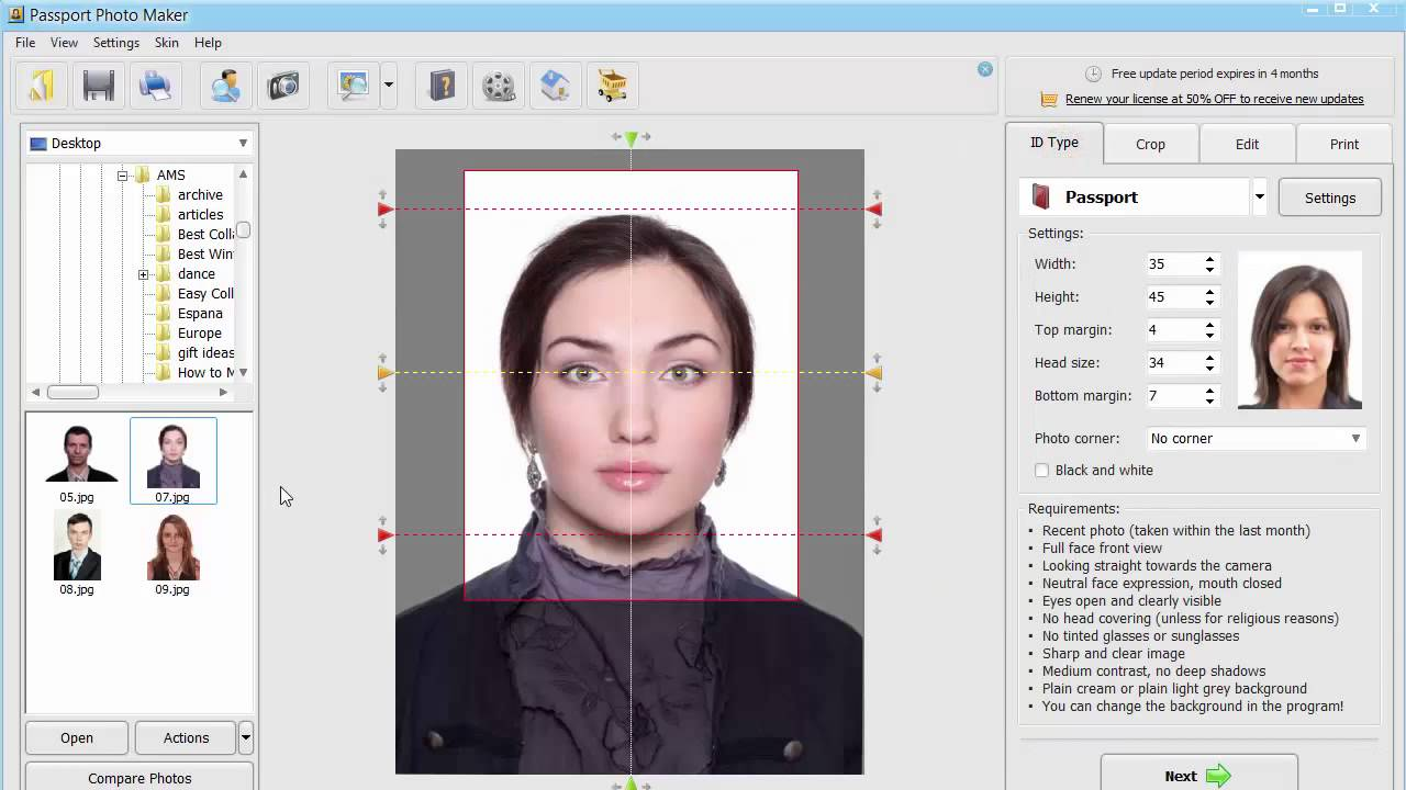 How to Print Passport Photos for Photography Clients - YouTube