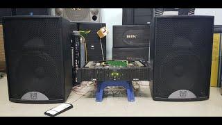 Cục đẩy công suất 2 kênh,cục đẩy karaoke bãi DMX -MP300 đánh 3 tấc, 4 tấc   3 triệu 2   09854184496