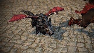 Path of Exile: Grunting Wolpertinger Pet