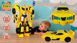 Трансформеры Бамблби большой Автобот робот машинка Transformers Bumblebee big Autobot robot car