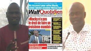 Petit Dej (20 mars 2019) - Revue de la presse nationale avec Abdoulaye BOB
