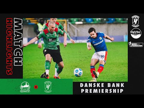 Linfield Glentoran Goals And Highlights