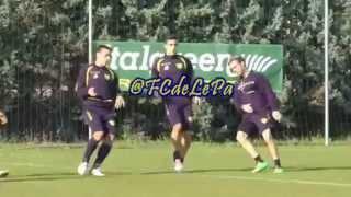 LePa en Chievo Verona.. Entrenamiento y partido de reserva