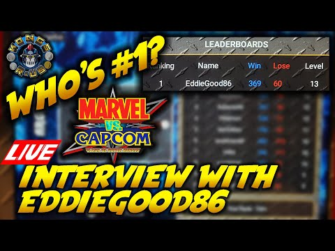 Interview with Top #1 Marvel Vs Capcom Arcade1Up Player - EddieGood86 from Kongs-R-Us
