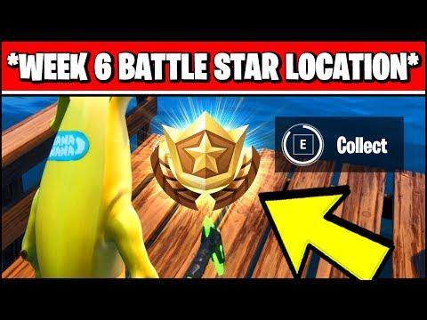 WEEK 6 SECRET BATTLE STAR LOCATION SEASON X (Fortnite Loading Screen 6 Battle Star)