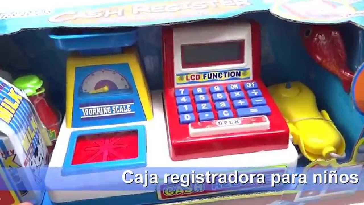Caja Registradora De Juguete Para Niños Calculadora Bascula
