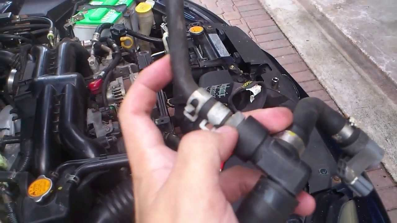 Subaru Legacy Gt Pcv Valve Replacement Youtube