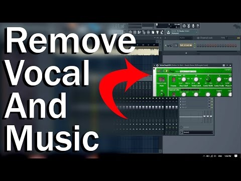 How TO Remove Vocal And Music From Song In Fl Studio Hindi Tutorial
