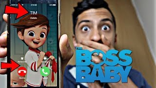 CALLING THE BOSS BABY BROTHER *OMG HE ACTUALLY ANSWERED*