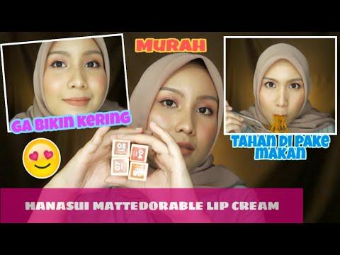 lipcream-lokal-murah-20-ribuan-||-hanasui-mattedorable-lipcream