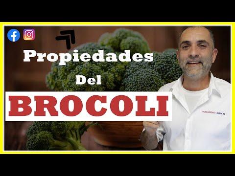 4 propiedades del brocoli