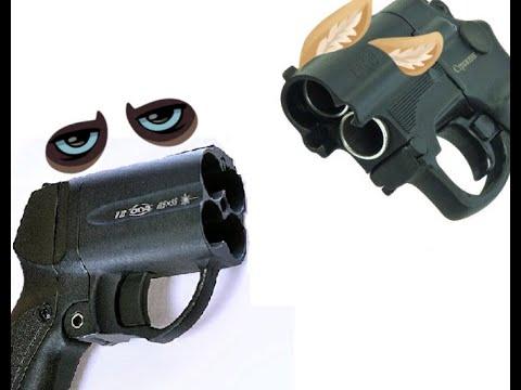 Травматический пистолет МР-461 Стражник против ОСЫ
