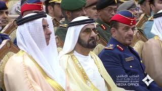 محمد بن راشد يحضر حفل تخريج الدورة السادسة في كلية الدفاع الوطني