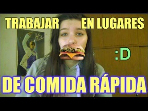 COMO ES TRABAJAR EN LUGARES DE COMIDA RÁPIDA - Mica Suarez
