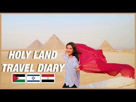 A JOURNEY TO HOLY LAND (JORDAN, ISRAEL, EGYPT) | Nicole Martinez