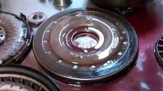 Volvo AW55-50SN Converter Inspection