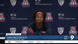 Aari Mcdonald Looking Forward To WNBA Draft
