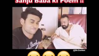 Sanjay Dutt Recites a poem for his Biggest Fan