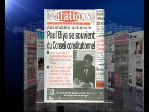 AFRIQUE MEDIA Production  REVUE FRANCAISE DU  14  11  2012