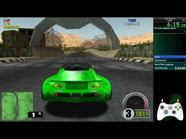 Test Drive 6 - Speedrun - Tournament (1:45:53)