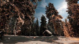 видео база отдыха зимняя сказка