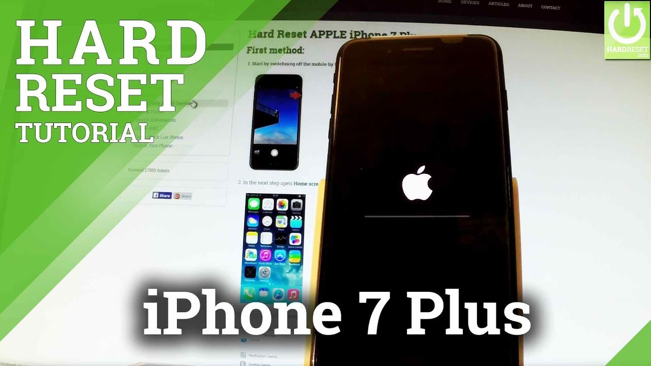 apple iphone restore how to restore apple iphone 7 plus reset delete 4593