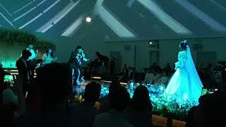 박진영의청혼가공연 같은 조카 결혼식.. 새신랑 춤과노래…