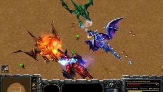 Warcraft lll ЖЁСТКИЕ ДРАКОНЫ (Битва драконов)