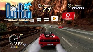 Outrun Online Arcade  - Goal C 60fps Upscaled 4K (PS3)