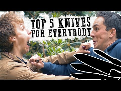 5 Essential Knives Everyone Should have!