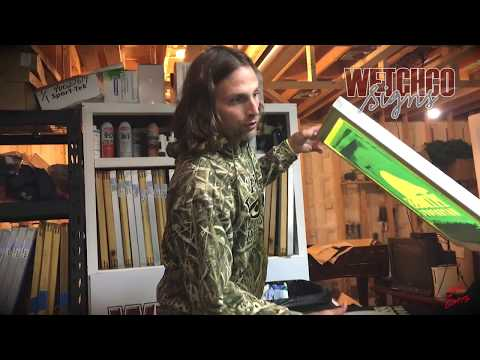 Screen Printing Hooded Sweat Shirts - WetchCo Signs & Pitboss Waterfowl