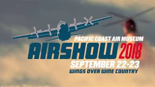 2018 Wings Over Wine Country Air Show promo