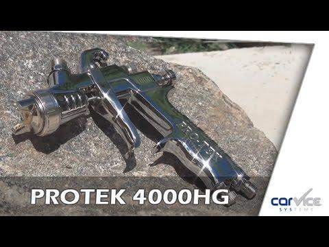 Produktvorstellung Lackierpistole Protek Hvlp 4000gh