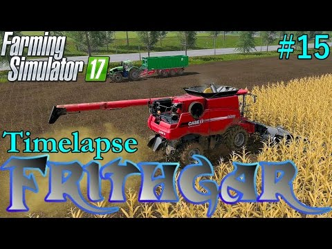 Farming Simulator 2017 Timelapse #15: Harvesting And Planting!