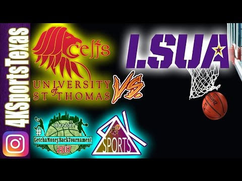 University of St. Thomas vs Louisiana State University Alexandria Full Game NCAA Women's Basketball