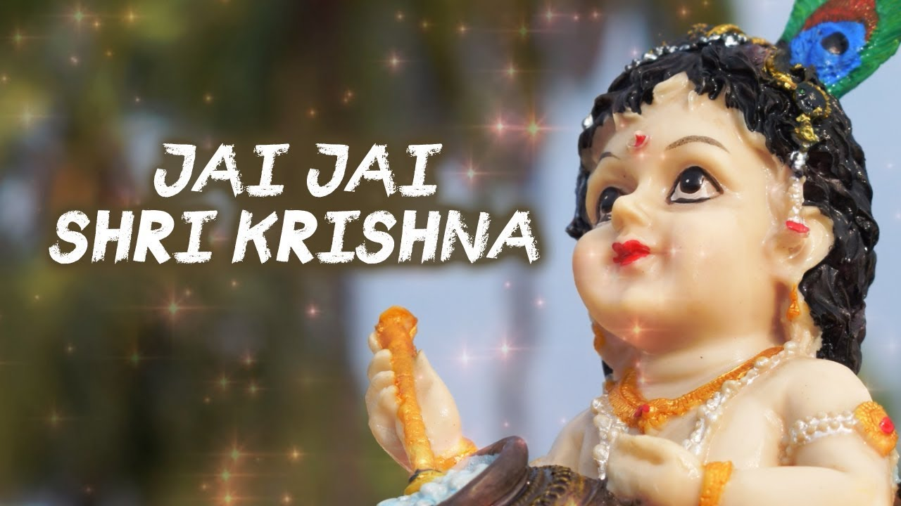 Latest Hindi Song 'Jai Jai Shri Krishna' Sung By Indrajeet Keisham  (Janmashtami Special)