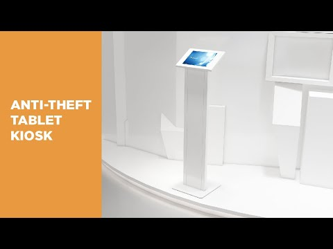 Anti-theft Free-standing Tablet Display Stand Kiosk