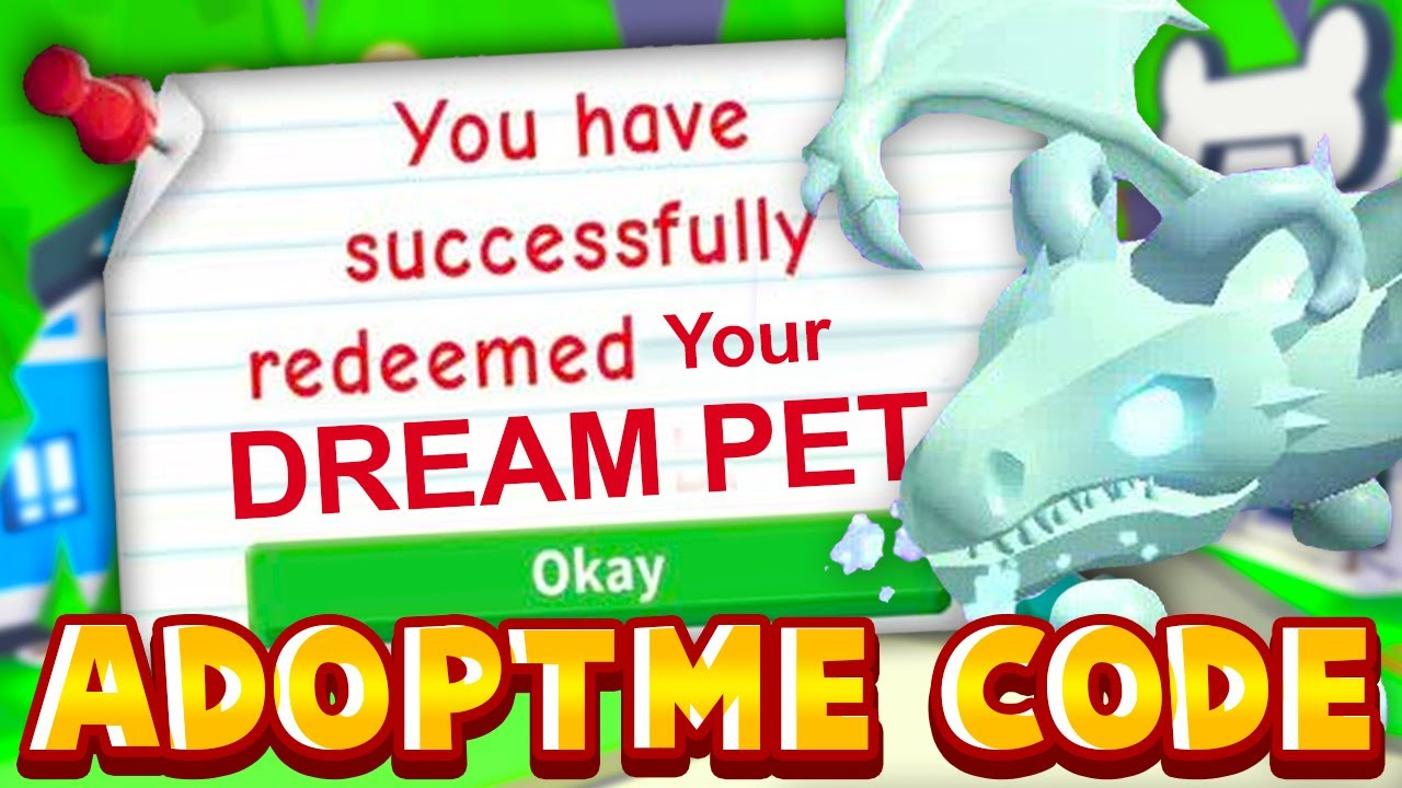 Adopt Me SECRET Code Gives You Your DREAM PET FREE! 100% Working Adopt Me Roblox Code 2020