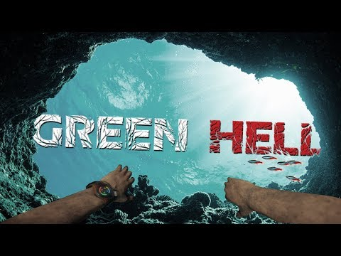 Exploring A Secret Deep Underwater Cave - Deadly Predator Hunting - Green Hell Gameplay