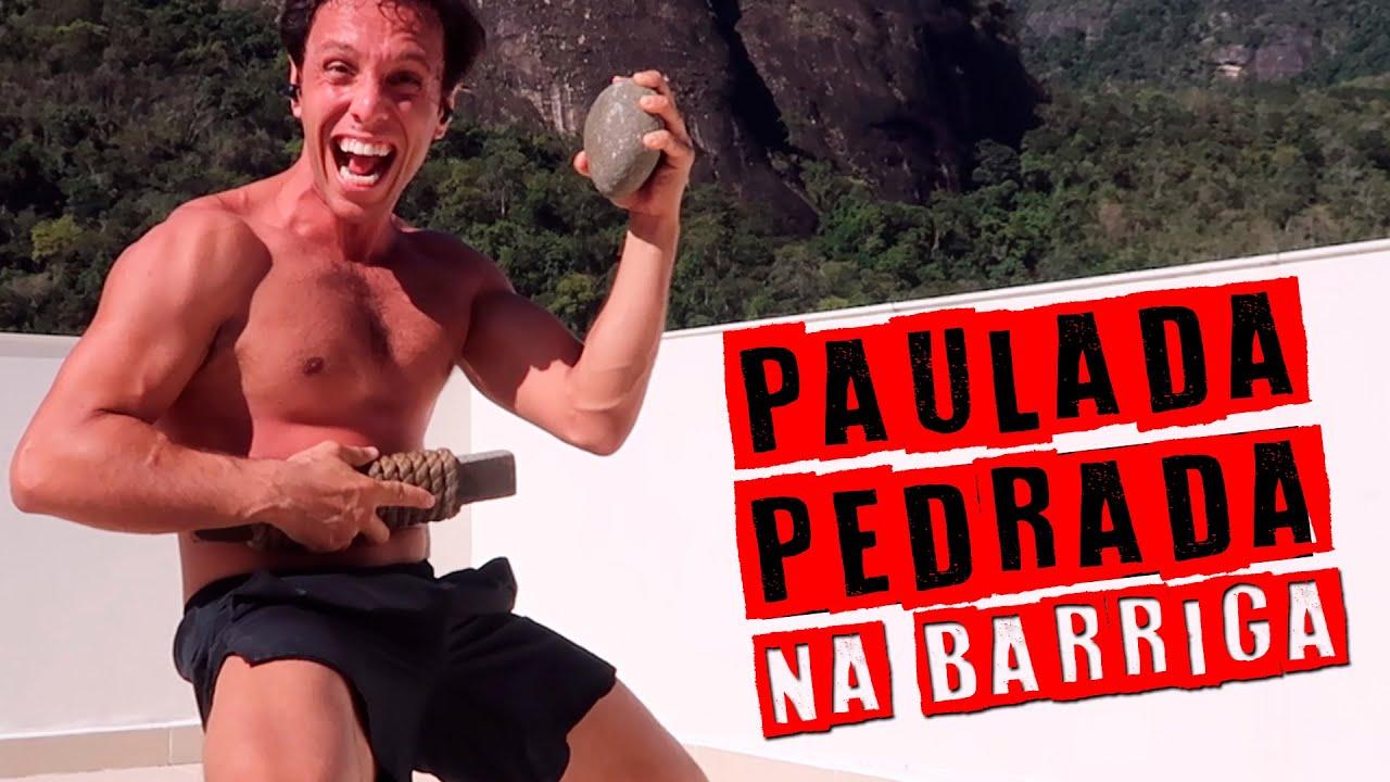 CALEJAMENTO DRAGÃO BRANCO #1 ABDOMINAL COM PAU E PEDRA PARA LUTA