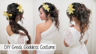 DIY Greek Goddess Costume