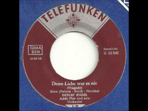 Detlef Engel - Denn Liebe war es nie