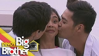 Pinoy Big Brother Season 7 Day 90: Maymay, napasigaw nang halikan nina Sam at Zanjoe