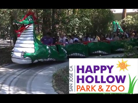 Happy Hollow Park And Zoo Tour & Review With The Legend