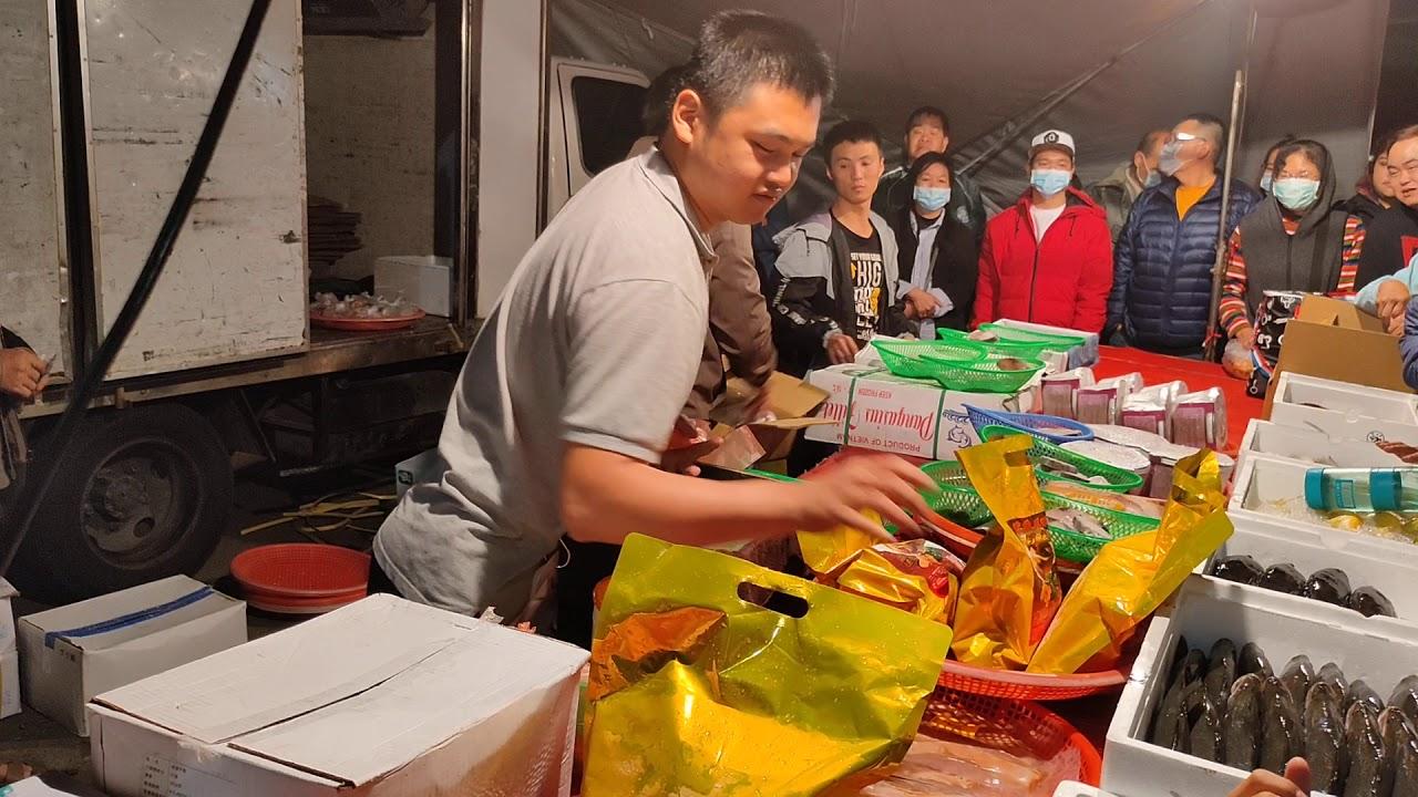 0219-16彰化溪湖夜市海鮮拍賣海鮮叫賣-嘉義張孝全 - YouTube
